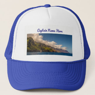 Sailing The Coastline Trucker Hat