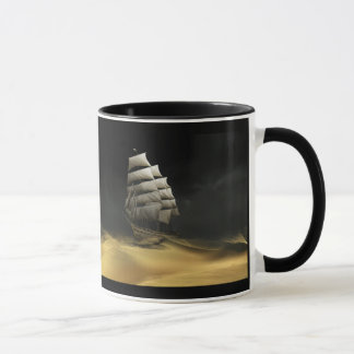 Sailing The Desert - Mug