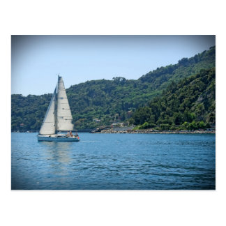 Sailing the Italian Riviera - Portofino - Postcard
