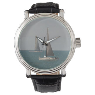 Sailing the Ocean Blue Wristwatch