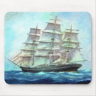 sailing to America Mouse Pad