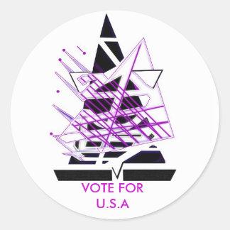 Sailing U.S.A Sticker