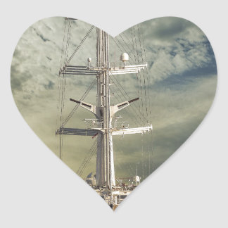 sailing-vessel-36 heart sticker