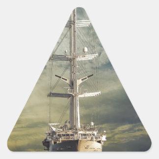 sailing-vessel-36 triangle sticker