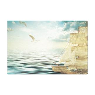 Sailing-vessel Canvas Print