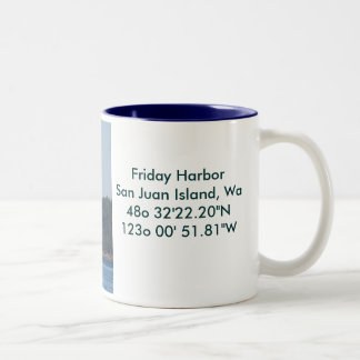 Sailing Vessel Two-Tone Coffee Mug