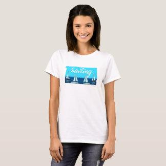 Sailing Vintage Style Cartoon T-Shirt