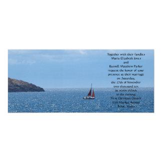 Sailing Wedding Card