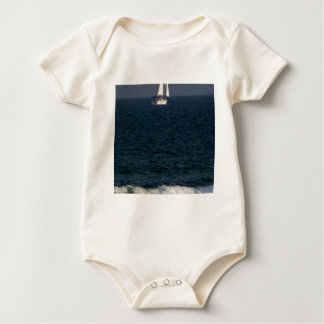 sailing with friends.JPG Baby Bodysuit
