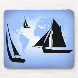 Sailing World Mousepad
