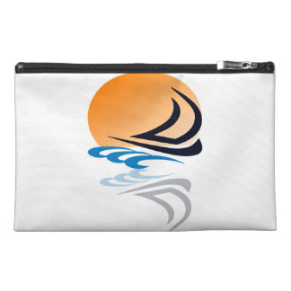 Sailing Yacht in the Sun Travel Accessory Bag