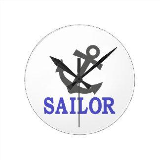 Sailor Anchor Clocks