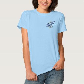 Sailor Anchor Embroidered Polo Shirts