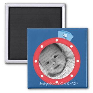 Sailor baby Announcement Magnet