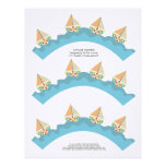 Sailor Boy Cupcake Wrappers Printable Template