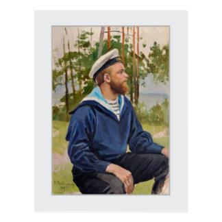 Sailor by Backmansson Postcard