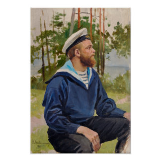 Sailor by Backmansson Poster