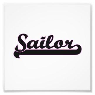 Sailor Classic Job Design Photo