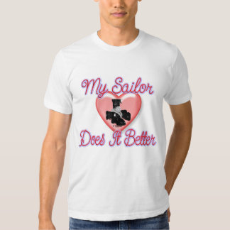 Sailor Does It Better T Shirts