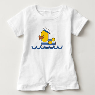 Sailor duck. baby romper
