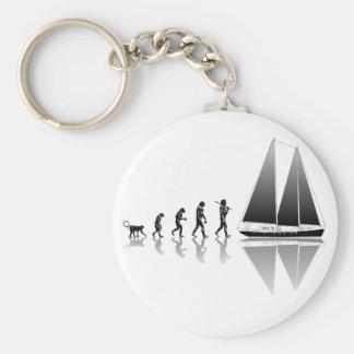Sailor Evolution Basic Round Button Keychain