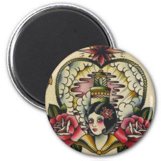 sailor girl magnet