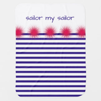 sailor my sailor baby blanket