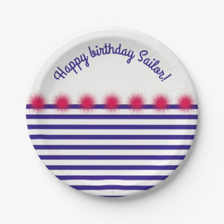 sailor my sailor paper plate