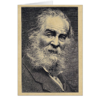 """Sailor of the World"" Walt Whitman Quotation Card"