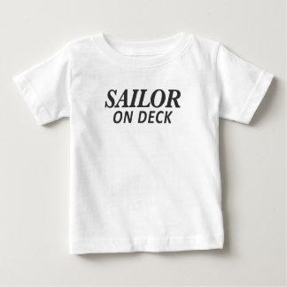 Sailor on Deck Print Baby T-Shirt