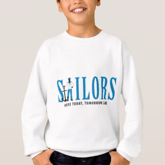 SAILOR ONE WITH ANCHOR SWEATSHIRT