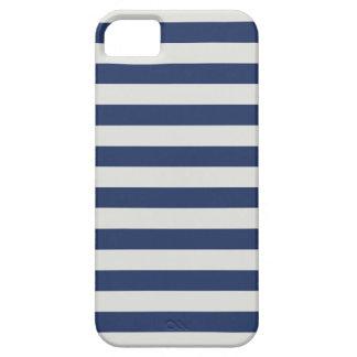 Sailor Stripe iPhone 5/5S Case Navy White Nautical