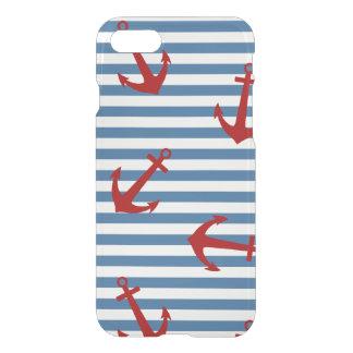Sailor Stripes Pattern Art iPhone 7 Case