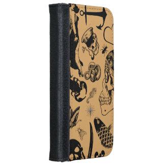 Sailor tats iPhone 6 wallet case