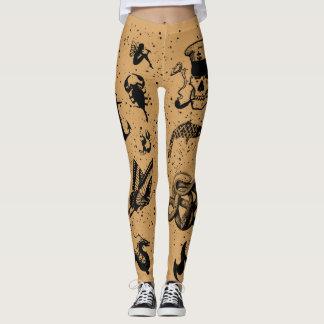 Sailor Tats Leggings