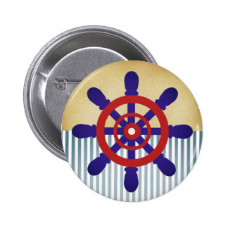 Sailor Wheel button vintage