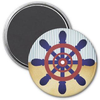 Sailor Wheel magnet vintage