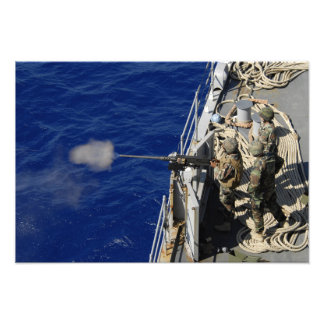 Sailors aboard USS Fort McHenry Photo Art