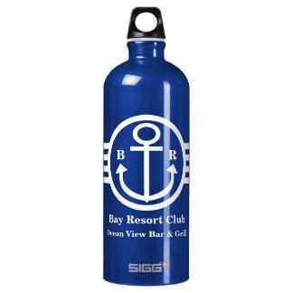 Sailor's Customizable Nautical Anchor Monogram Water Bottle