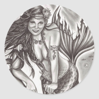 Sailor's Fantasy Classic Round Sticker