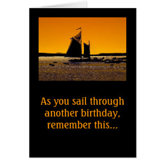 Sailors Get a Little Dinghy! Card