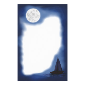 Sailor's Moon ~Moonlight Sailboat~ Stationery