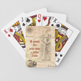 Sailor's Proverb Playing Cards