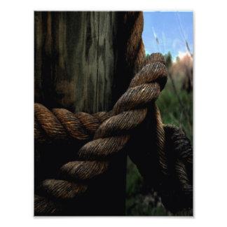 Sailor's Rope Photo Print