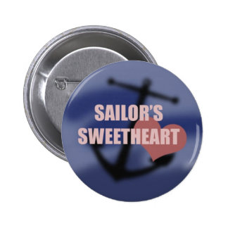 Sailor's Sweetheart 2 Inch Round Button