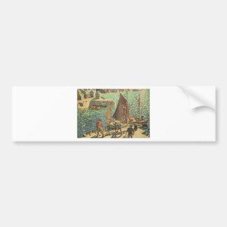 Sailors Tiled Bumper Sticker