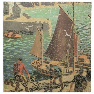 Sailors Tiled Napkin
