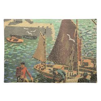 Sailors Tiled Placemat