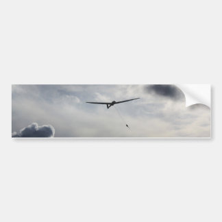Sailplane Launching Bumper Sticker