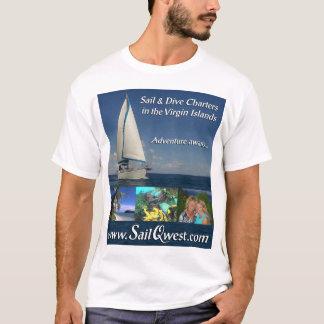 SailQwest Adventure—Front Design T-Shirt